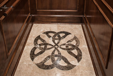 Floor Medallions Custom Floors Precision Cutting Service - Custom cut ceramic tile