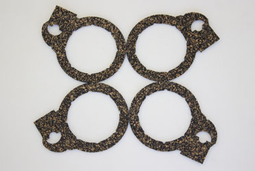 Four Cork Gaskets